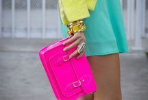 Ang's Colors - Neon / All things that I love that are neon in color!!