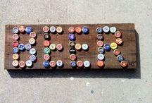 Bottle cap stuff / by Cortlyn Nace