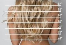 Long hair dont care / Hair products, examples, tips  / by Cortlyn Nace