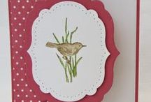 Cuttlebug card ideas