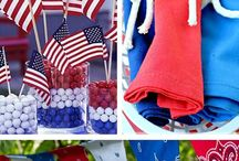 Red, White, and Blue / American themed pins  / by Colleen a.k.a. Pinterest Mama