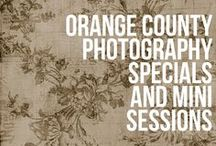 Specials for Photography Sessions In Orange County / my specials