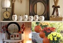 Fall Decor & DIY / Fall Crafts & Decorations / by M Revell