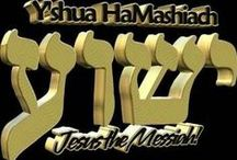 Yeshua - My Messiah / There are three that bear witness in heaven, the Father, the Word, and the Holy Spirit, and these three are one. 1 John 5:7 / by Renda Lutz
