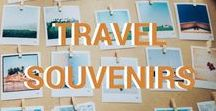Travel memories and souvenir DIY / On this board you can find how to make unforgettable travel memories and turn them into DIY souvenirs. From passport stamps to creative photo designs.