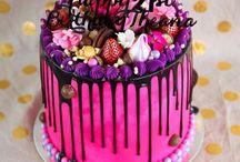 Cakes, Drip