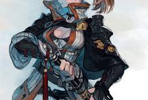 騎士 / 剣士 / ソルジャー / フェンサー