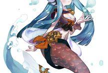 人魚 / 海洋系 / 海賊