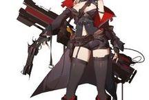 銃士 / 射手 / ガンナー