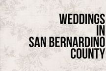 Weddings in San Bernardino County