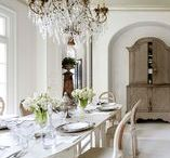FRENCH ROOMS / Interior decorating and design: French rooms.