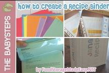 Step 3: Meal Planning/Recipe Organization / Use these meal planning tips and techniques to make it easy to add food storage recipes into your everyday cooking.