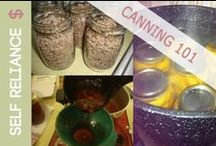 Food Preservation: Canning / Recipes, websites, tutorials, products, etc. all dedicated to the art of home canning.