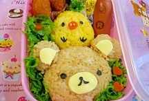 "Chara Ben / Some even make artistic obento called ""CHARA-BEN"" (boxed meals inspired by anime or manga characters)"