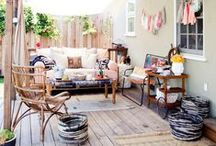 Outdoor Spaces Home / by Shaelynn Christine
