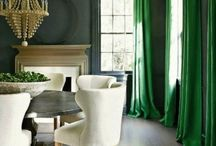 COLORFUL ROOMS / Color. Dramatic rooms. Amazing rooms / design inspiration / beautiful rooms  / by South Shore Decorating