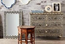 bone inlay furniture / A collection of the Bone Inlay pieces we carry here at Vavoom Emporium, plus some inspiration images that we love!