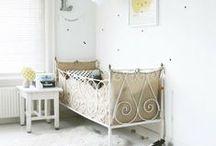 Nursery / Inspiration and ideas for your baby's room. Inspiration et idées déco pour la chambre de votre bébé. #nursery #baby #rooms #boys #girls