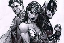 DC Characters / by Monica McEntee