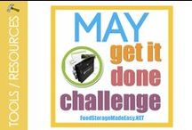 """Monthly """"Get it Done"""" Challenges / by Food Storage Made Easy (Jodi and Julie)"""