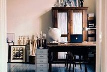 work spaces / Home offices, board room tables, study nooks, desks, schools, stationery and much more!