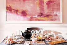 decorating with art and photography / interiors that incorporate art and photography, from tribal art to post-impressionist to post modern to futurist!