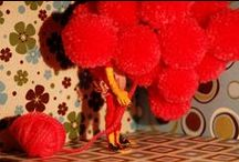 #worldpomination / Everybody needs pompoms in their life.