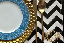 TABLE SETTINGS / TABLESCAPES / by South Shore Decorating