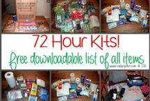 E-Prep:  72 Hour Kits / Tons of resources for helping you put together your family's 72 hour kits.
