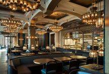 RESTAURANT & HOTEL DESIGN / Gorgeous restaurant designs  / by South Shore Decorating