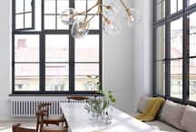DINING ROOMS / Interior decorating and design: Beautiful traditional dining rooms and modern dining rooms