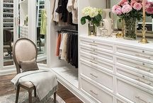 CLOSETS OF MY DREAMS / A girl can dream. (Dream closets) / by South Shore Decorating