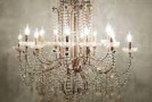 LET THERE BE LIGHT! / Favorite chandeliers, sconces, table lamps, pendants, and lighting of all kinds / by SSDB