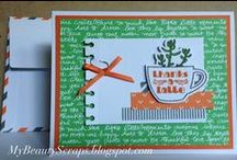 Stampin' Up! My Paper Pumpkin July 2015 Thanks a Latte / Sign up for My Paper Pumpkin for only $19.95 a month on my website  http://BeautyScraps.stampinup.net and visit my blog http://myBeautyScraps.blogspot.com for alternate ideas and inspiration!