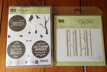 Stampin' Up! Among the Branches / I love to make Pinterest boards for my favorite stamp sets.  Check out my blog http://mybeautyscraps.com for tutorials using this stamp set.  Don't have it yet?  Shop with me at http://beautyscraps.stampinup.net