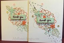 Stampin' Up! My Paper Pumpkin February 2016 Hello Sunshine / Sign up for My Paper Pumpkin for only $19.95 a month on my website http://BeautyScraps.stampinup.net and visit my blog http://myBeautyScraps.com for alternate ideas and inspiration!