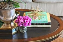 POPS OF COLOR / Color. Interior decorating and design: Dramatic and boldly colored rooms and room with pops of color.