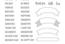 Stampin' Up! Thoughtful Banners