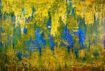 Abctract paintings / Abstract artworks / Abstract art / Abstract artworks for inspiration by different artists