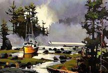 Landscapes / Art / Painting / Artworks / Landscapes for inspiration by different artists