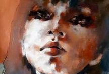 Portrait / Art / Painting / Artworks / Portraits by different artists for inspiration