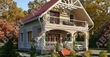 Красивые загородные дома. / Фото красивых домов.