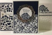 Stampin' Up! Floral Phrases Stamp Set & Detailed Floral Thinlits Dies / Shop for Stampin' Up! products on my website http://BeautyScraps.stampinup.net and visit my blog http://myBeautyScraps.com for ideas and inspiration!