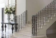 FOYERS, ENTRYWAYS, AND HALLWAYS / Classically traditional, transitional, and modern foyers, entryways, and hallways. Classically elegant traditional and modern interior design. Beautiful rooms designs and interior decorating ideas for all styles