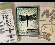 Stampin' Up! Dragonfly Dreams / Dragonfly Dreams - January 2017 BeautyScraps Stamp of the Month Get more info about the stamp of the month & other current sales & promotions are on my blog http://www.mybeautyscraps.com/p/current-sa.html and shop in my online store http://bit.ly/ShopBeautyScrapsSU