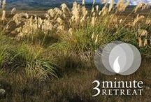 3-Minute Retreat / An online prayer experience that helps you spend a few quiet moments connecting with God, wherever you are.  / by Loyola Press