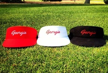 Classic Georgia Visors / The Collection of Classic Georgia Visors available at www.classicgeorgia.com #ClassicGeorgia #Georgia #Visors #Golf  / by ClassicGeorgia