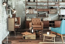 Lovely vintage interiors