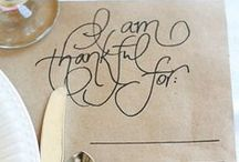 Gobble Gobble / All things Thanksgiving / by Allison Spector