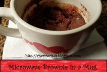 Mug Recipes / Cooking up single recipes fast and easy / by Cheryl Croce Culver